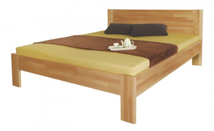 Masívne postele Rám postele Gemma, 140x200, masívny buk