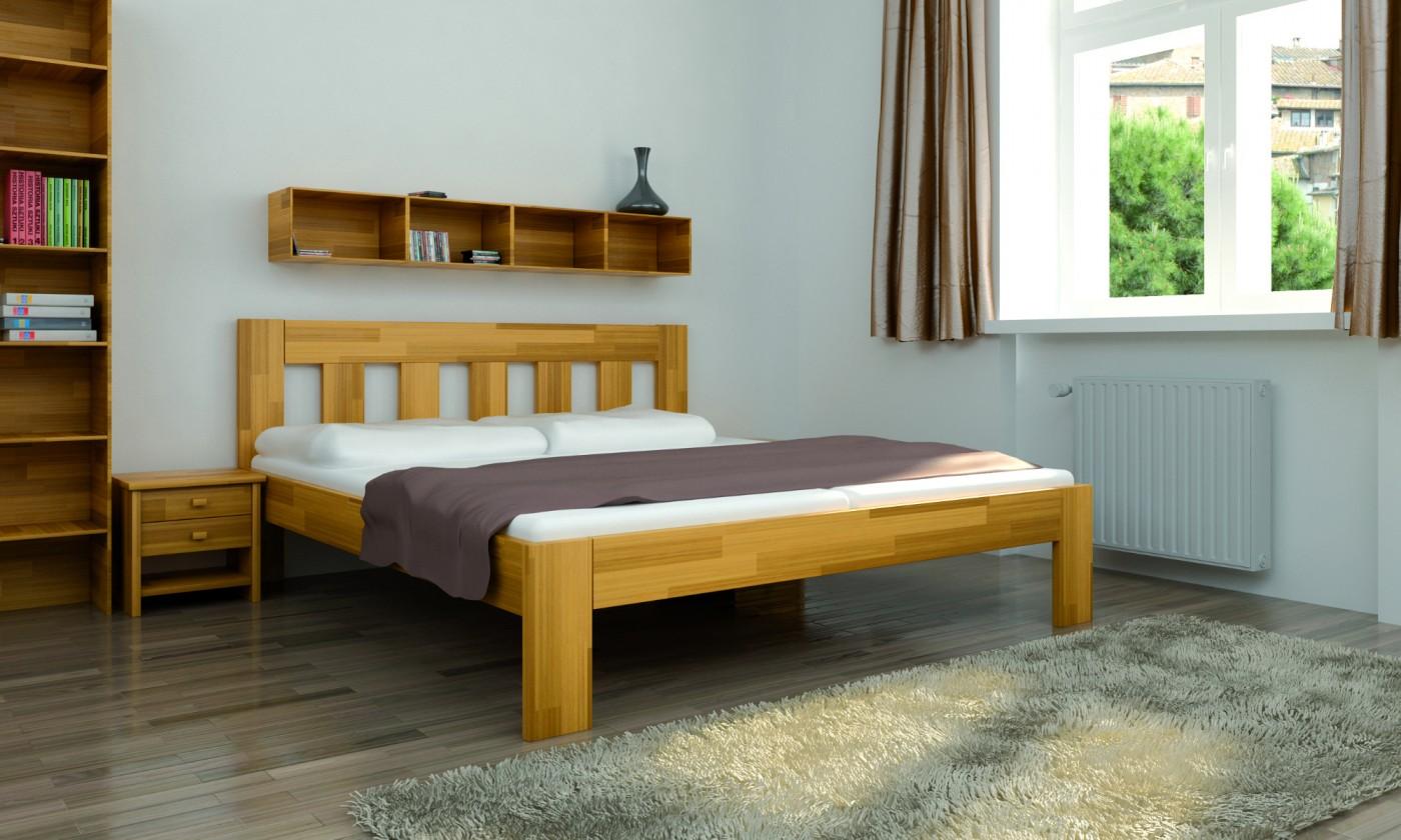 Masívne postele Rám postele Pavla 180x200, smrk