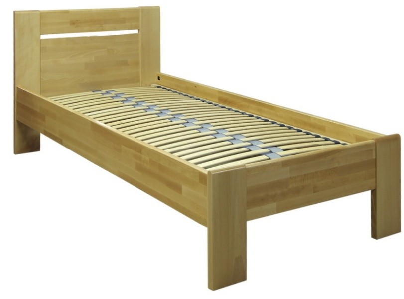 Masívne postele Rám postele Tina 1, 90x200, buk masív