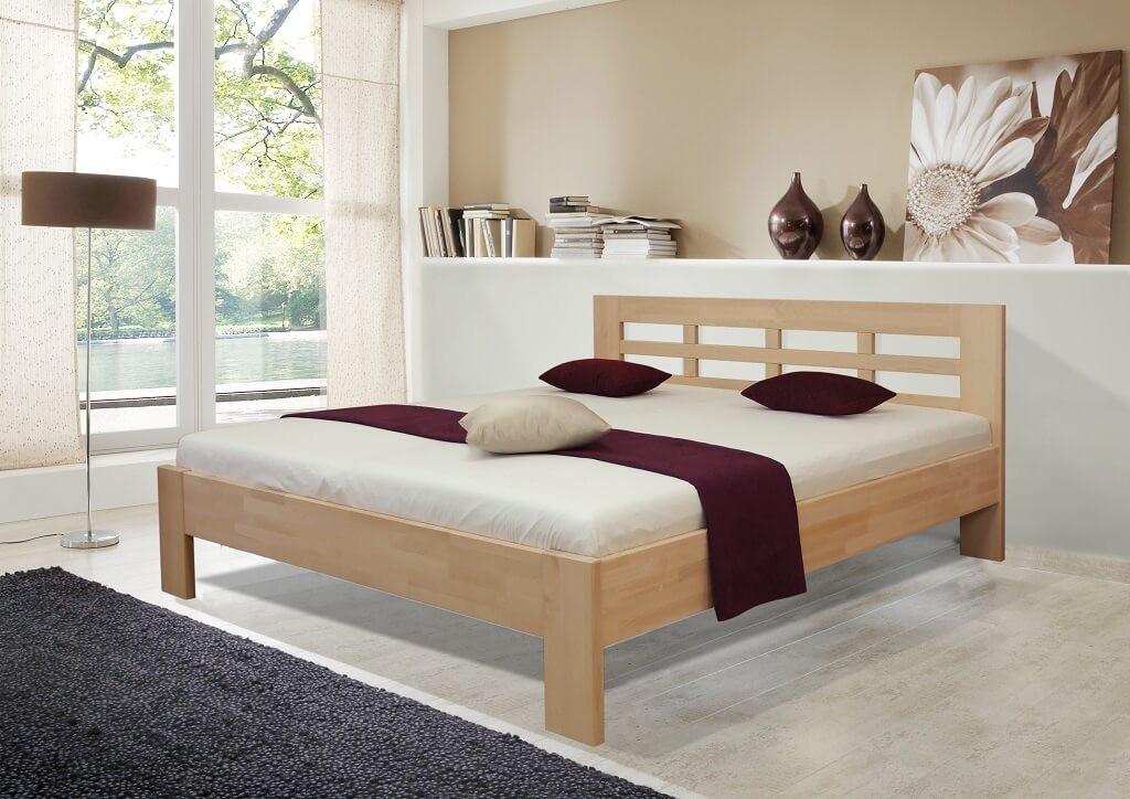 Masívne postele Rám postele Vegas 180x200, buk