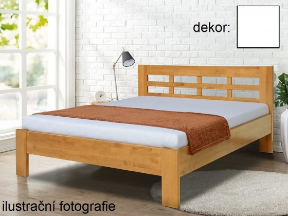 Masívne postele Rám postele Vegas 180x200 cm, biela