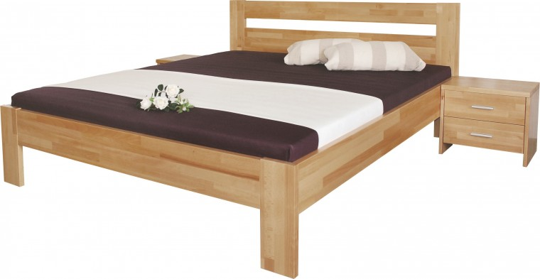 Masívne postele Rám postele Vitalia 140x200