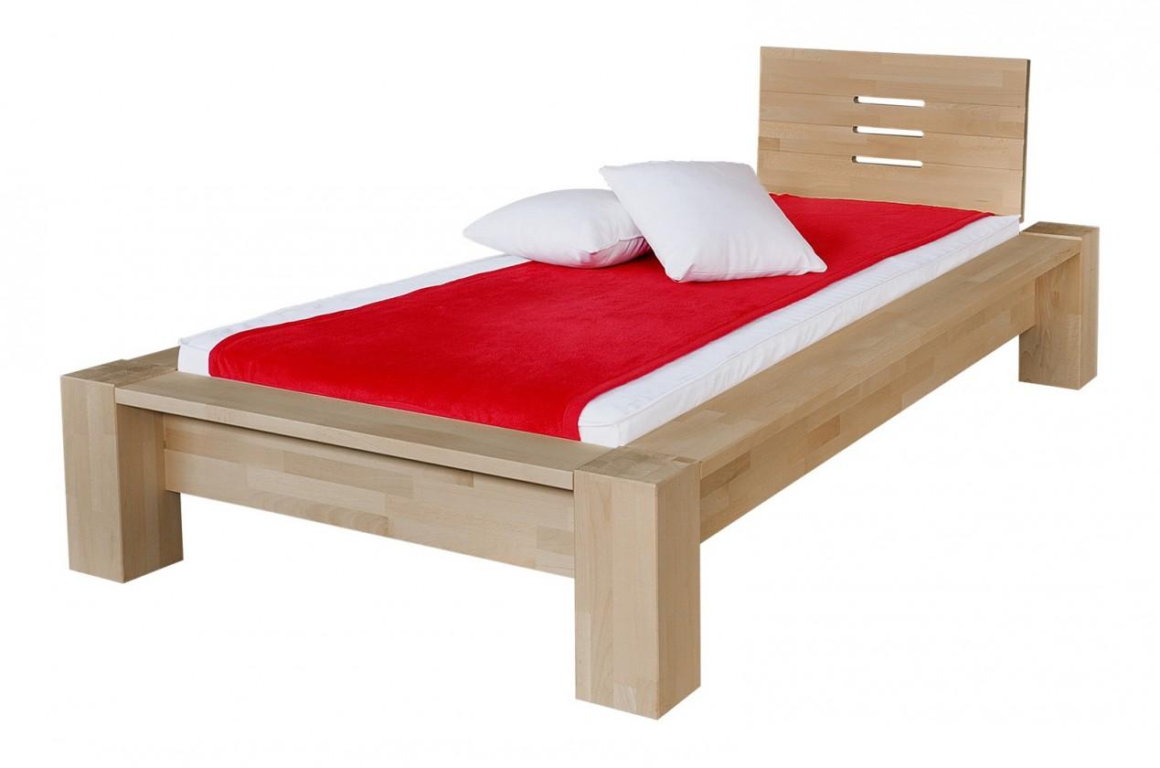 Masívne Savina - rám postele (rozmer ložnej plochy - 200x100)