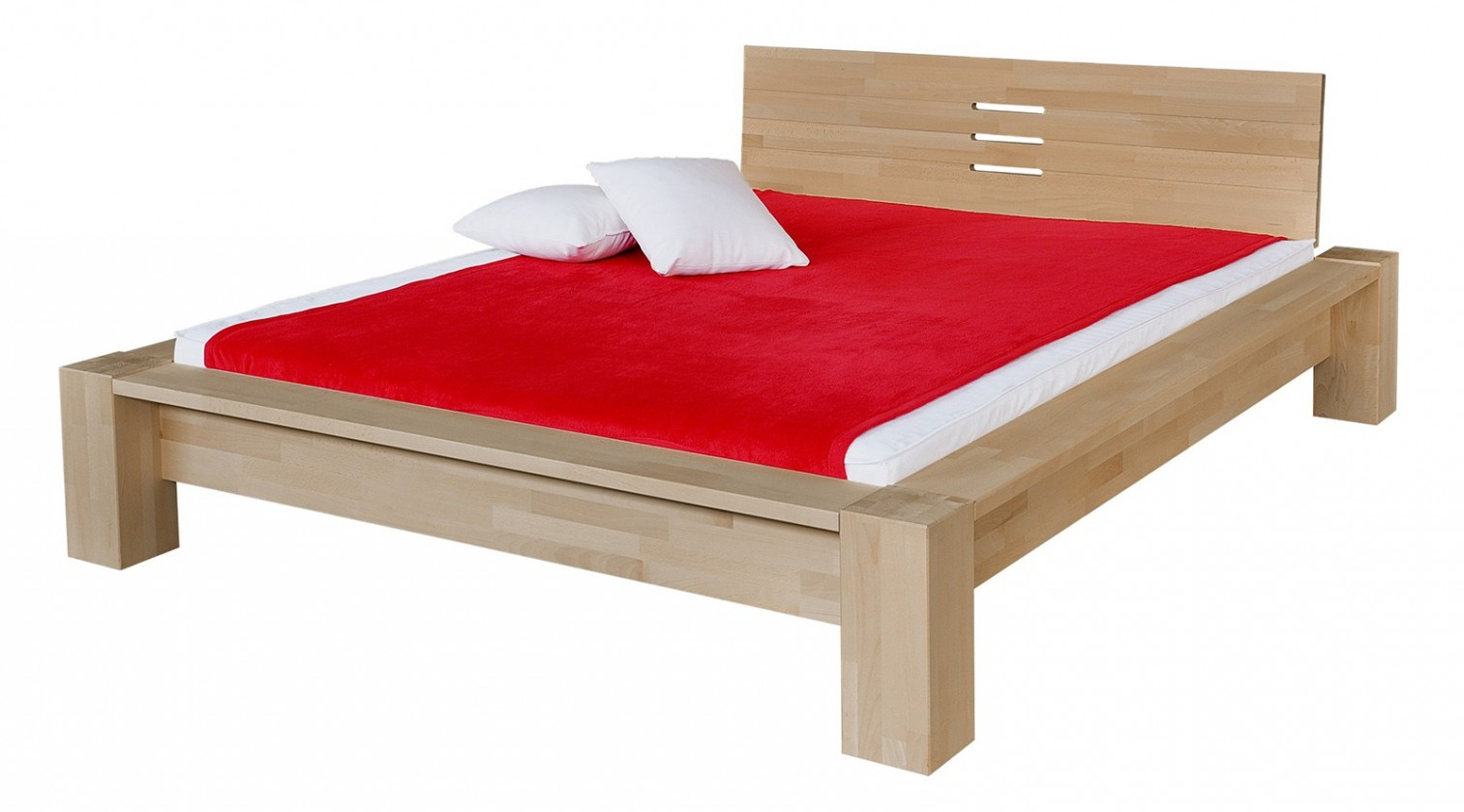 Masívne Savina - rám postele (rozmer ložnej plochy - 200x140)