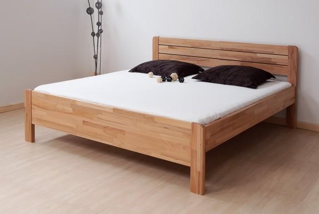Masívne Sofia - posteľ 200x180 + rošt
