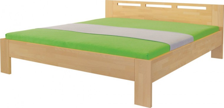 Masívne Velia - rám postele (rozmer ložnej plochy - 200x120)