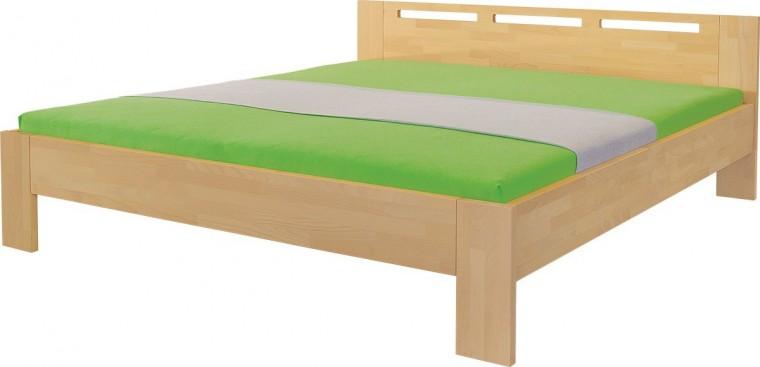 Masívne Velia - rám postele (rozmer ložnej plochy - 200x180)