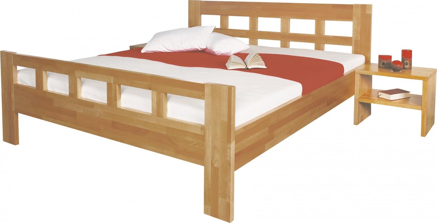 Masívne Viviana - rám postele 200x100