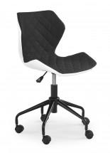 MATRIX - dětská stolička, čierná, regulacia výšky sedáku