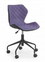 MATRIX - dětská stolička, fialová, regulacia výšky sedáku