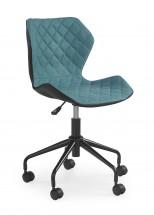 MATRIX - dětská stolička, modrá, regulacia výšky sedáku