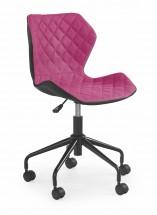 MATRIX - dětská stolička, růžová, regulacia výšky sedáku