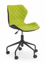 MATRIX - dětská stolička, zelená, regulacia výšky sedáku