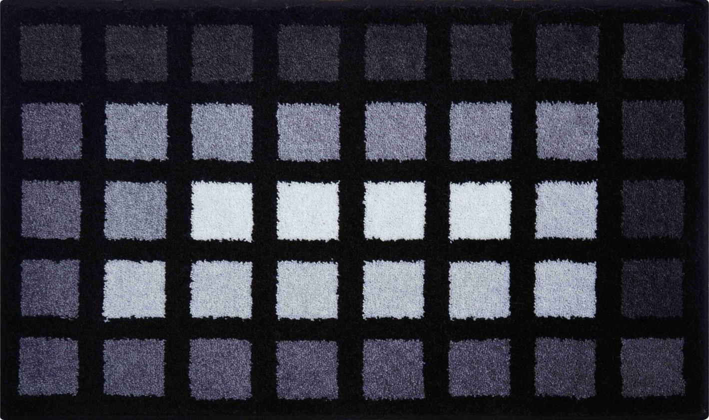 Matrix - Kúpeľňová predložka 60x100 cm (antracitová)