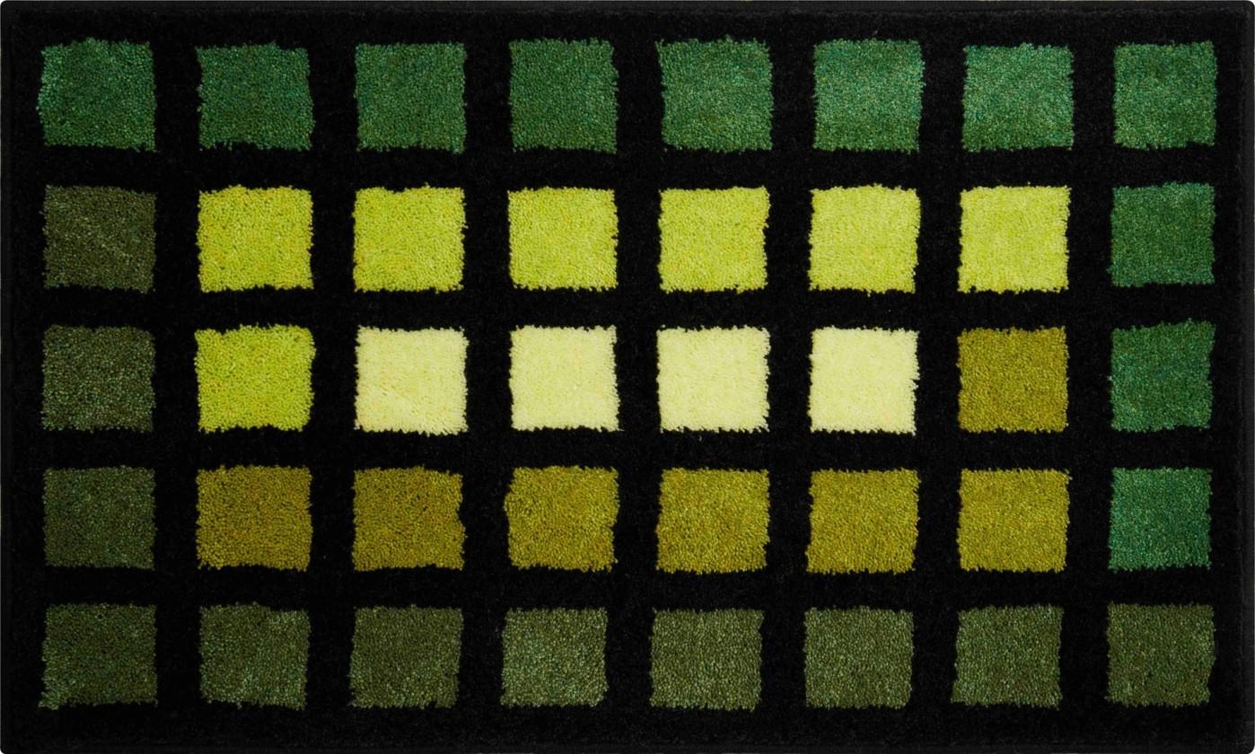 Matrix - Kúpeľňová predložka 70x120 cm (zelená)