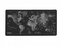 Maxi podložka pod myš Natec Time Zone Map, 40x80 cm