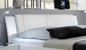 Medina - Polstrované čelo na posteľ 180 cm (alpská biela)