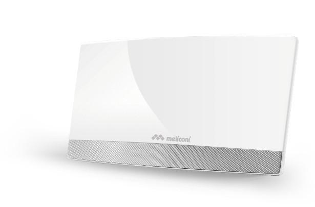Meliconi AT 55 elegantná anténa so zosilovačom signálu TV ROZBALE