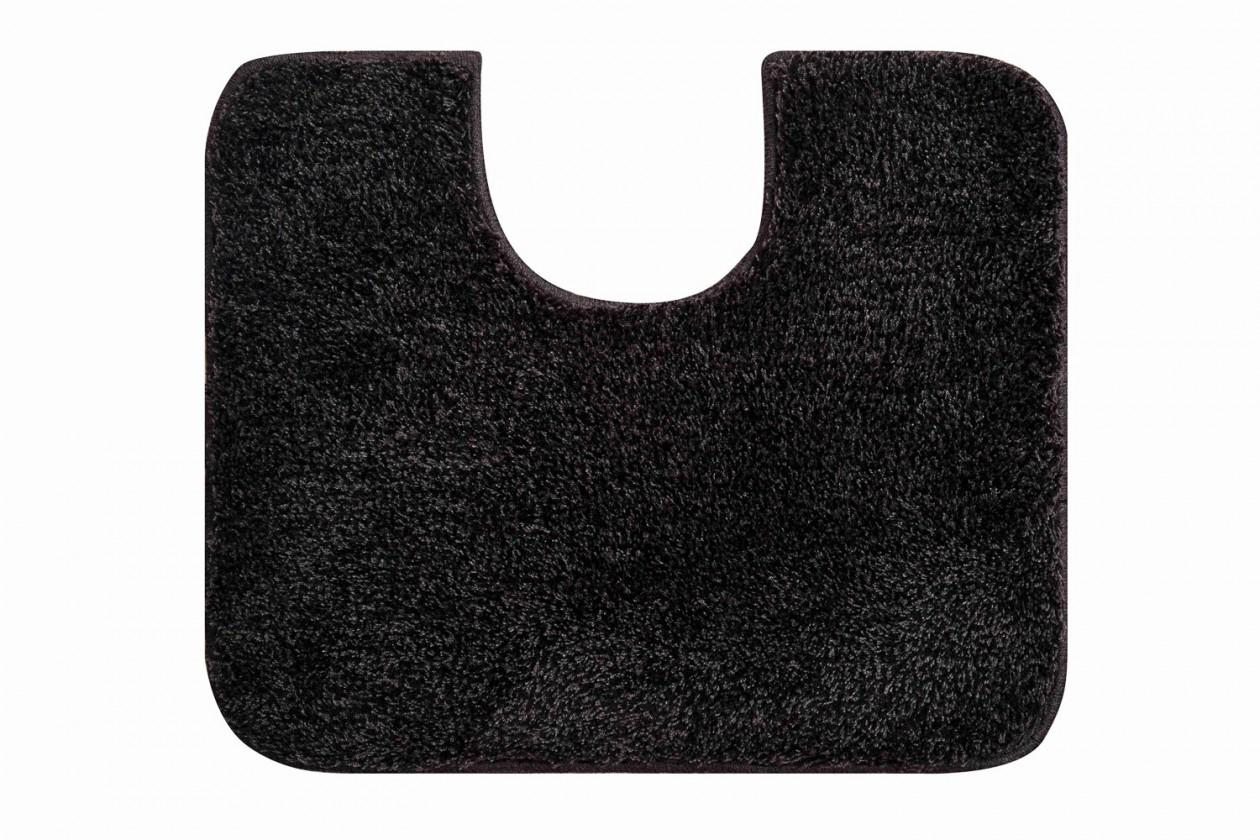 Melo - WC predložka 60x50 cm (sivá-čierna)