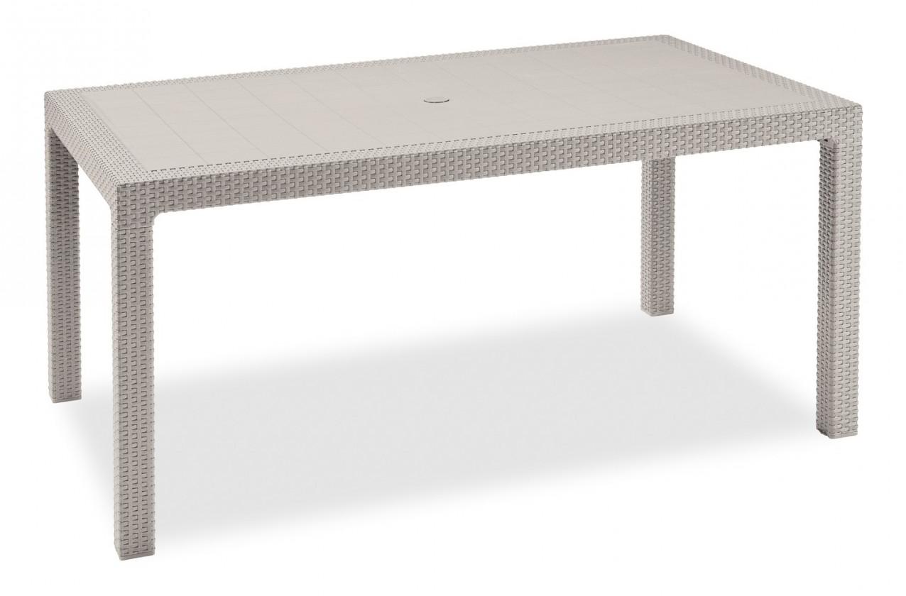 Melody - Stôl, 161 cm (biela)
