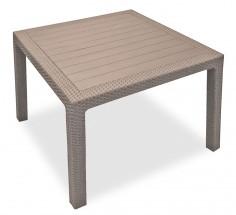 Melody - Stôl, 95 cm (cappuccino)