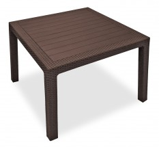 Melody - Stôl, 95 cm (hnedá)