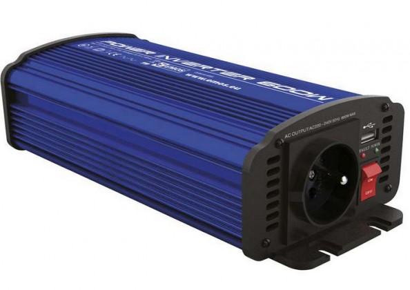 Meniče napätia EMOS 12V/230V, 600W