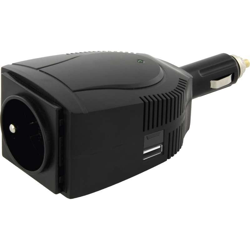 Meniče napätia Emos N0035, menič napätia 12V / 230V, 100W
