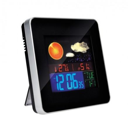 Meteostanice Solight meteostanice, teplota, vlhkosť, budík, LCD, TE74