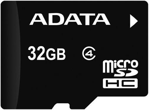 Micro SDHC A-Data micro SDHC 32GB class 4 + adaptér