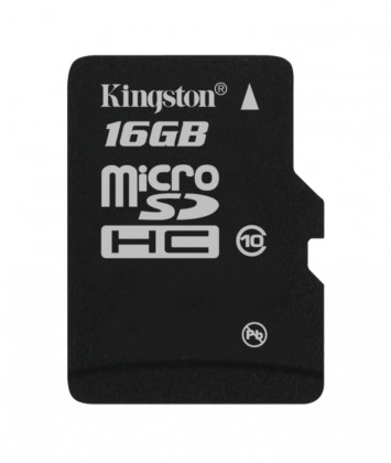 Micro SDHC Kingston micro SDHC 16GB Class 10