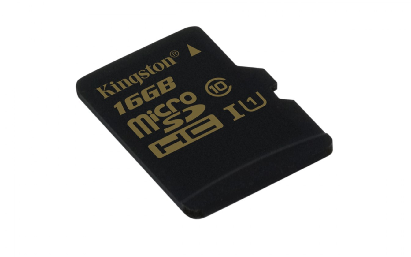 Micro SDHC Kingston Micro SDHC 16GB Class 10 UHS-I - SDCA10/16GBSP ROZBALENÉ