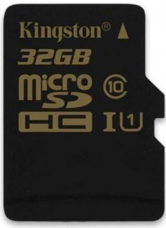 Micro SDHC Kingston Micro SDHC 32GB Class 10 UHS-I - SDCA10/32GBSP