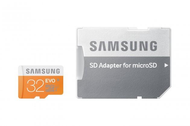 Micro SDHC Samsung Micro SDHC EVO 32GB Class 10 + adaptér (MB-MP32DA/EU)