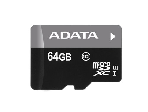 Micro SDXC ADATA Micro SDXC Premier 64GB UHS-I AUSDX64GUICL10-R