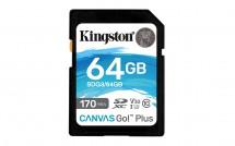 Micro SDXC karta Kingston 64GB (SDG3/64GB)