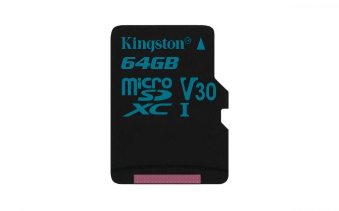 Micro SDXC Kingston Micro SDXC Canvas Go! 64GB 90MB/s UHS-I U3SDCG2/64GBSP