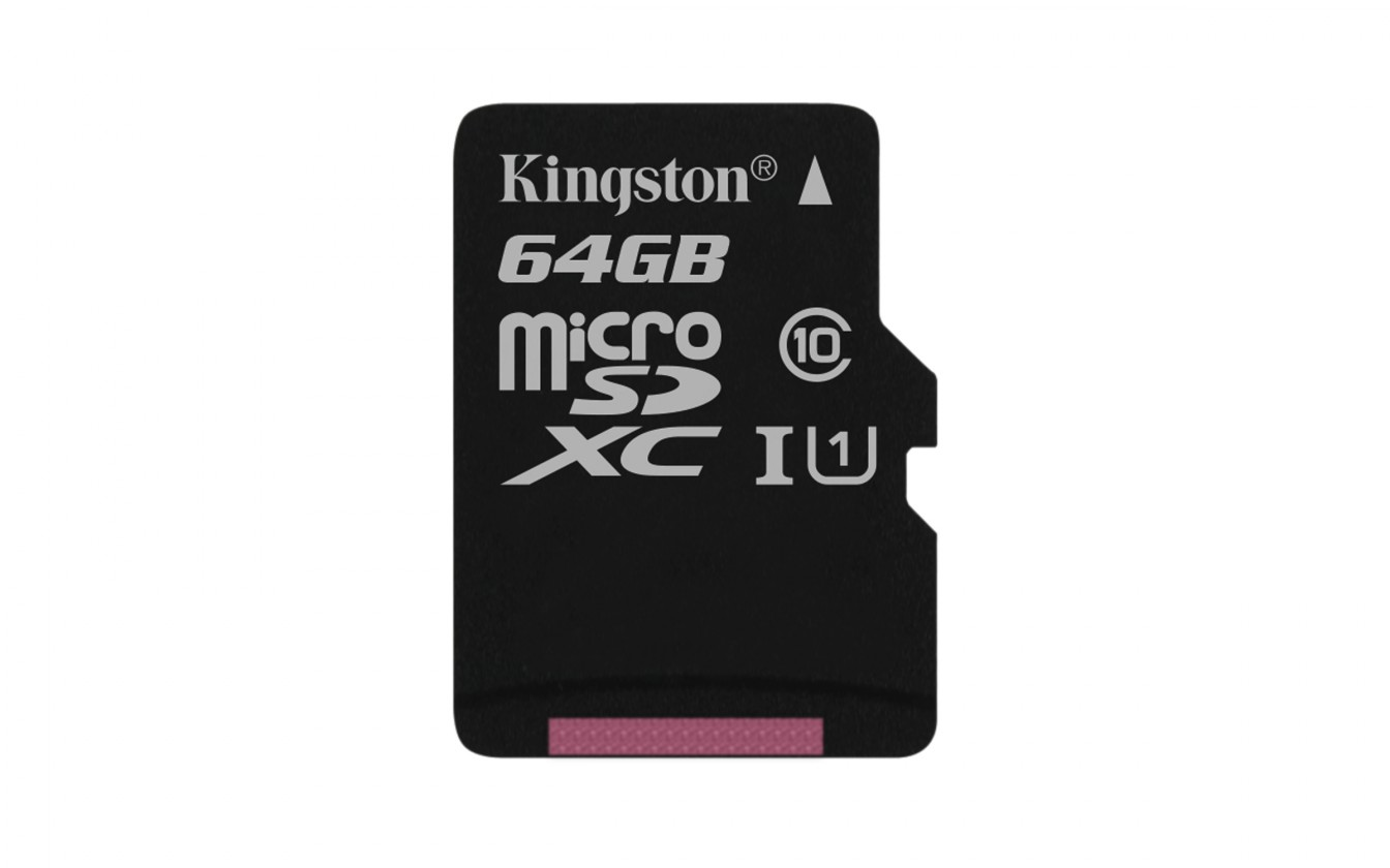 Micro SDXC Kingston Micro SDXC Canvas Select 64GB 80MB/s UHS-I  SDCS/64GBSP