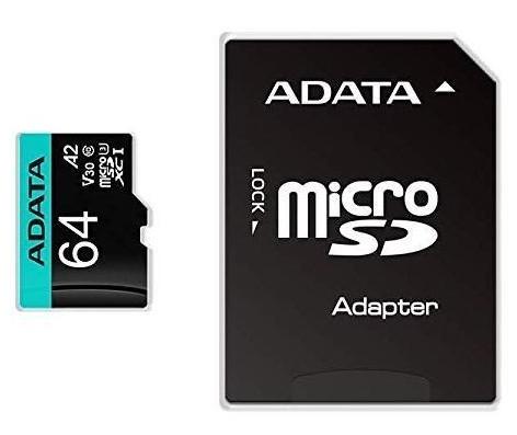 Micro SDXC MicroSDXC 64GB U3 V30S až 95MB/s + adapter