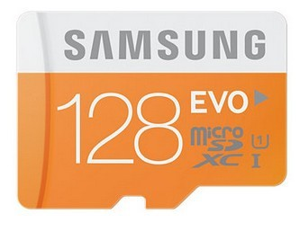 Micro SDXC Samsung Micro SDHC EVO 128GB Class 10
