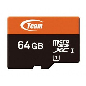 Micro SDXC TEAM 64GB Micro SDXC Xtreem/ UHS-1/ + SD adaptér
