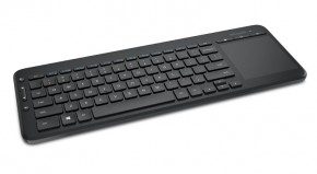 Microsoft All-in-One Media Keyboard USB CZ, čierna