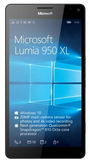Microsoft Lumia 950 XL SS Black