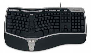Microsoft Natural Ergonomic Keyboard 4000 USB (B2M-00023),čierna