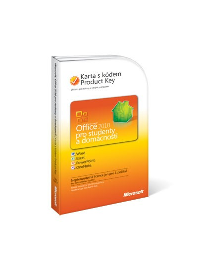 Microsoft Office Home&Student 2010 CZ PC Attach Key (79G-02017)