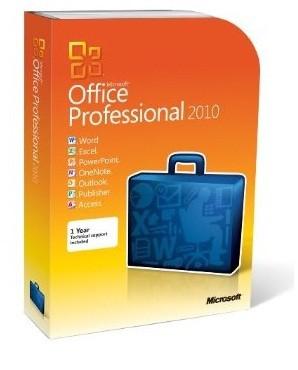 Microsoft Office Pro 2010 CZ DVD (269-14667)