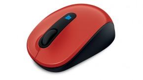 Microsoft Sculpt Mobile Mouse červená
