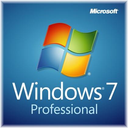 Microsoft Windows Pro 7 SP1 32-bit CZ DVD OEM (FQC-04614)