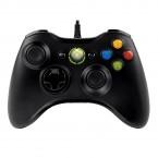 Microsoft Xbox 360 Controller USB, čierna