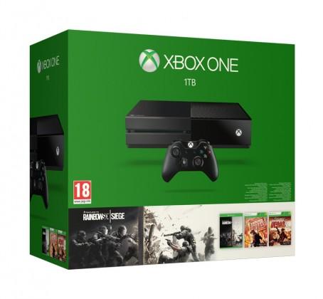 Microsoft Xbox One 1TB + 3x hra Tom Clancy's Rainbow Six